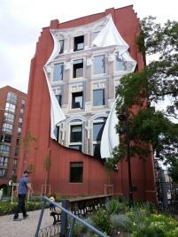 Déco mural de bâtiment